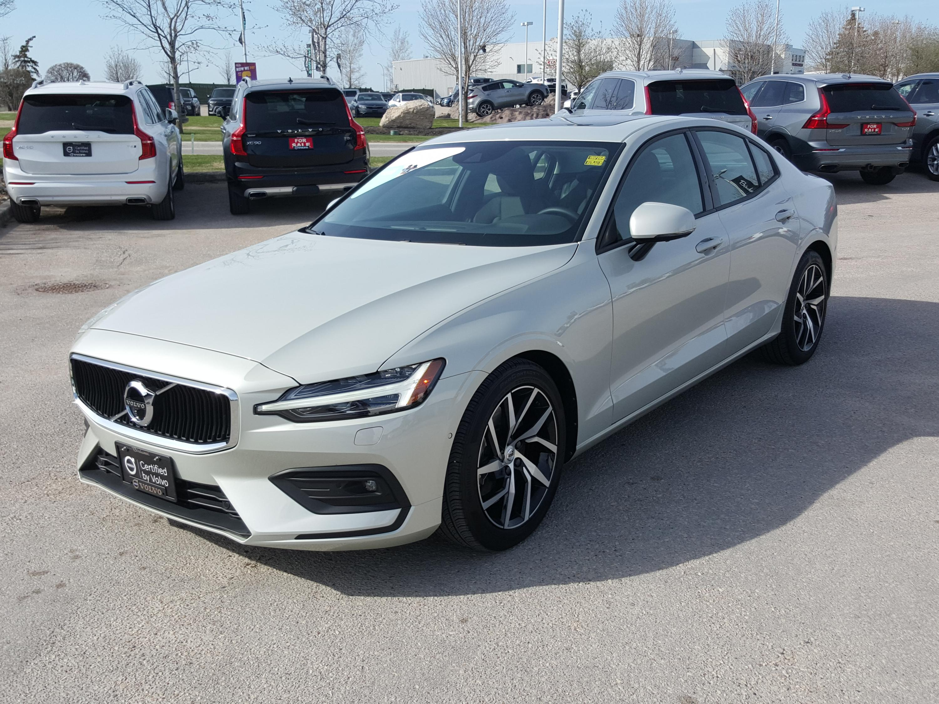 Certified Pre-Owned 2019 Volvo S60 Momentum May Special: .99% Finance up to 72 months!