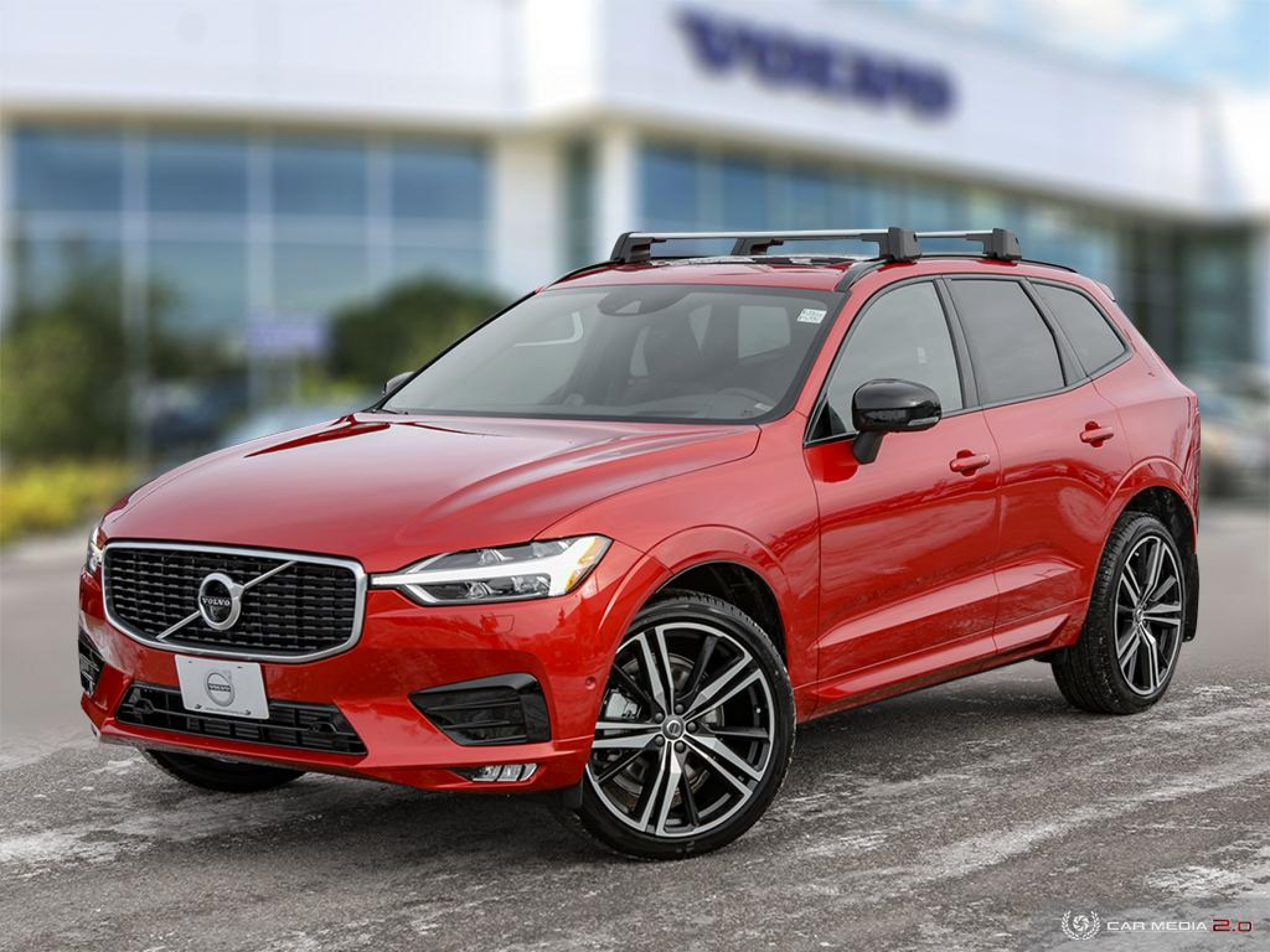 New 2020 Volvo XC60 R-Design | Class-Leading Safety