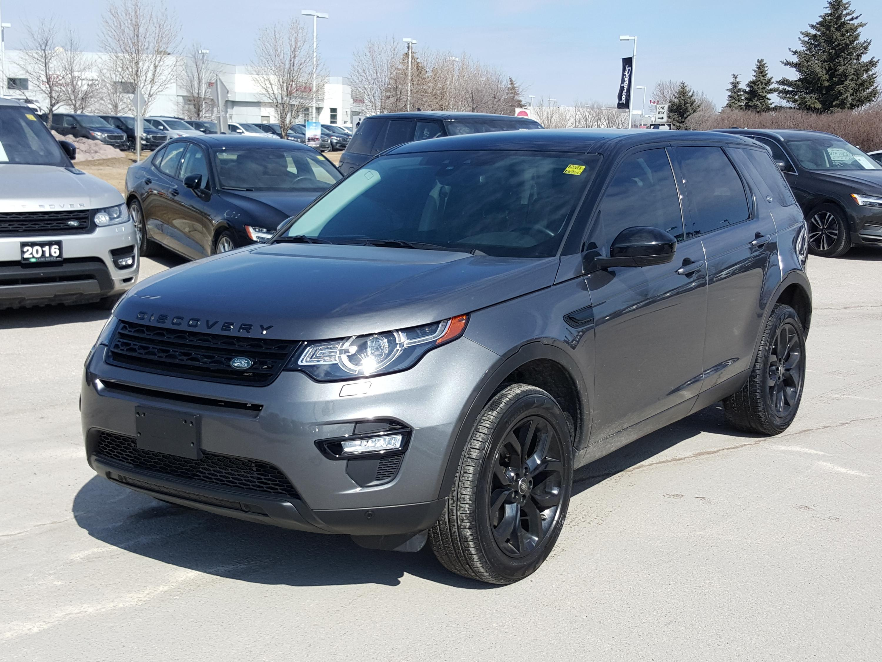 Pre-Owned 2016 Land Rover Discovery Sport HSE SOLD! Check the 2019!