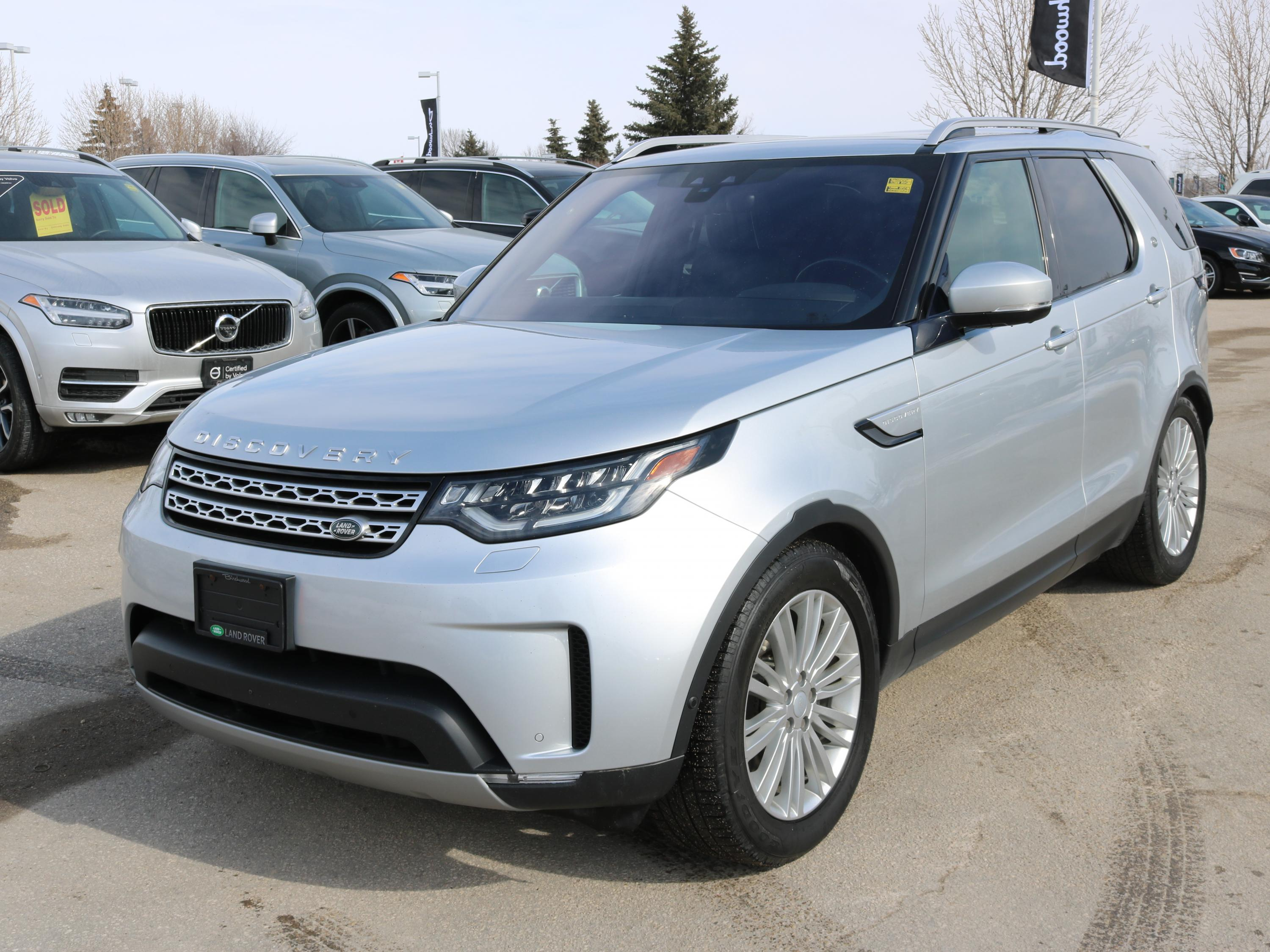 Pre-Owned 2017 Land Rover Discovery HSE Luxury Diesel *Bonus: Includes the Extended Warranty!*