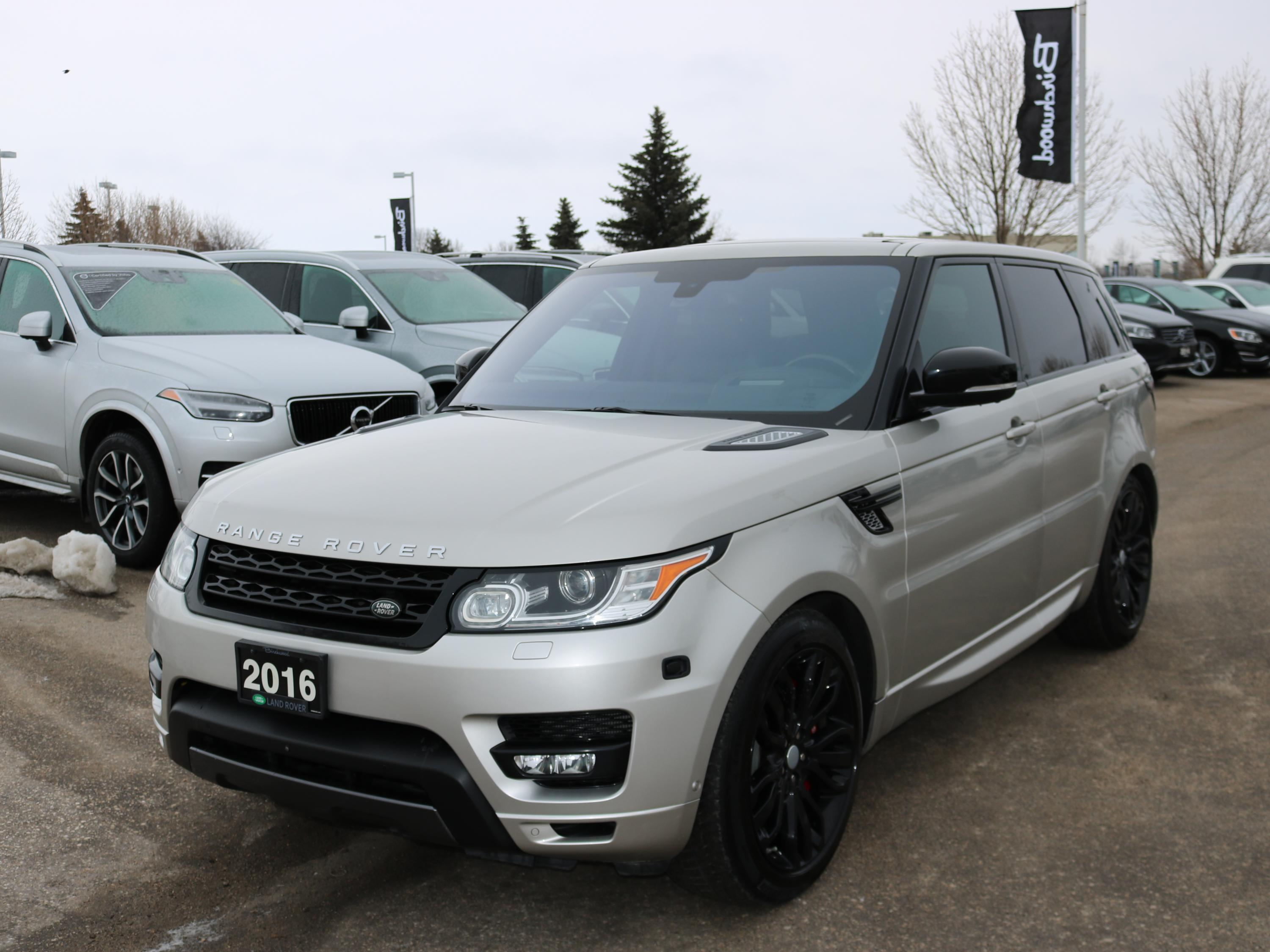 Pre-Owned 2016 Land Rover Range Rover Sport Supercharged March Special: Includes Free Certified Warranty