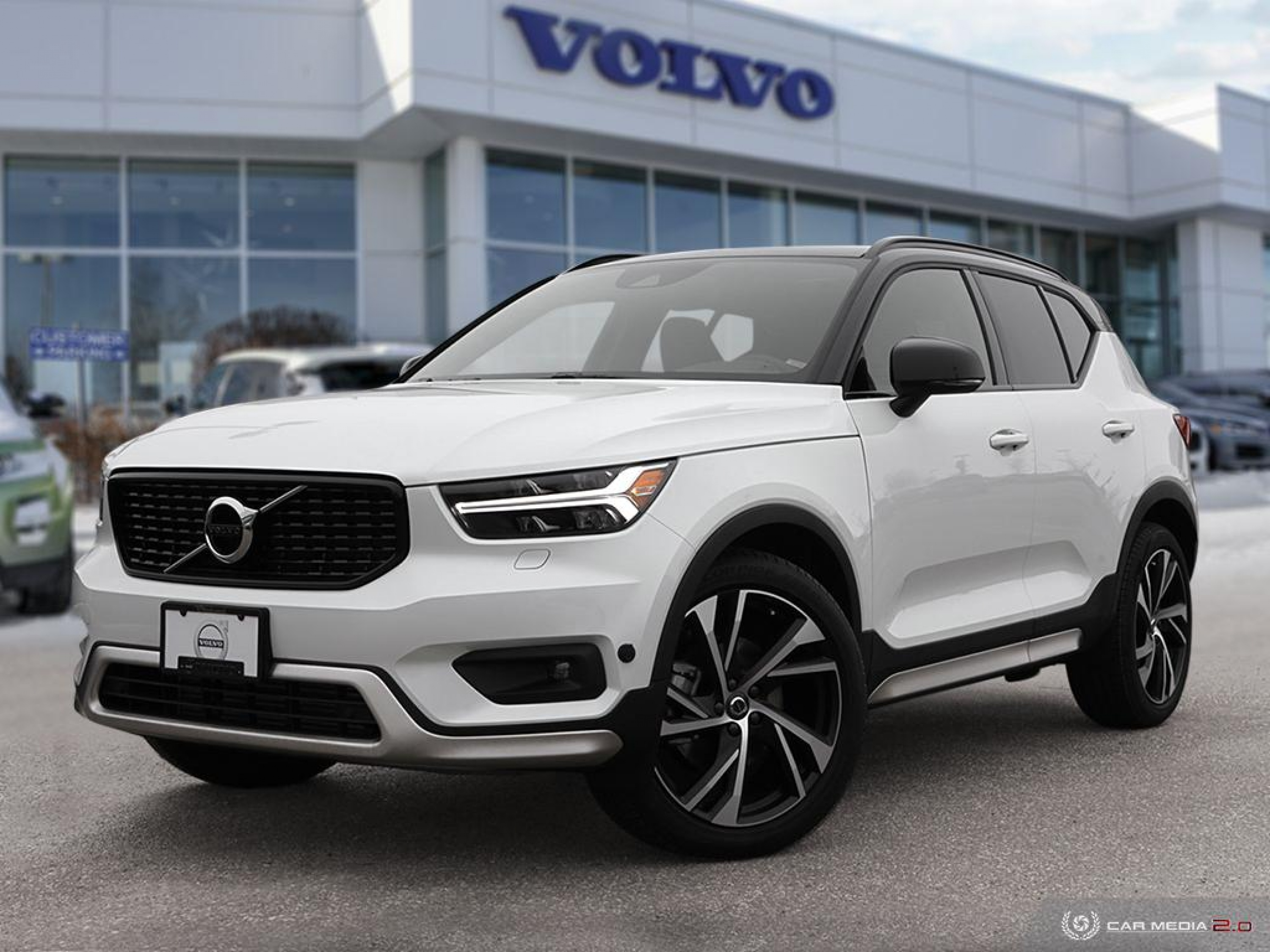 New 2020 Volvo XC40 R-Design | Refined Strength and Safety Features