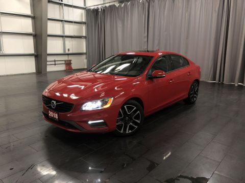 Certified Pre-Owned 2018 Volvo S60 Dynamic *The T6 Dynamic in Passion Red*